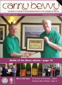 North East Region Cider Pub of the Year Presentation @ The Avenue